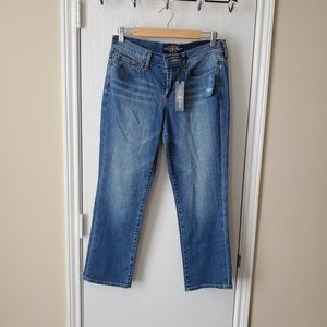 Lucky Brand Sweet N'Low Crop Jeans